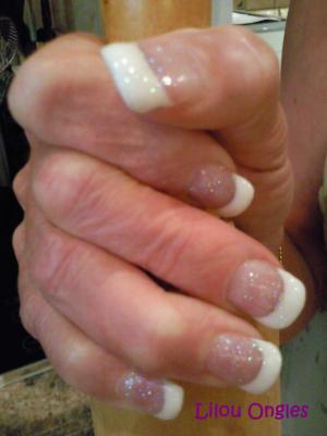 lilou ongles gel masque pailleté