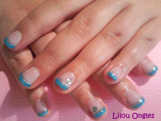 lilou ongles gel uv turquoise