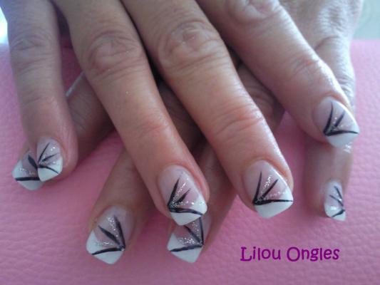 lilouongles noir argent